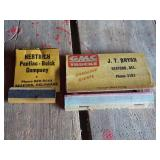Two Matchbooks