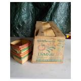 Wooden Asparagus Box & 6 Strawberry Boxes