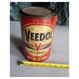 Veedol Oil & Greases Can