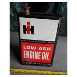IH Low Ash Engine Oil Can
