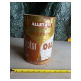 Allstate Heavy Duty Motor Oil Can