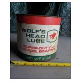 Wolf's Head Lube Can
