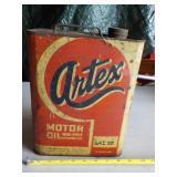 Artex Motor Oil Can
