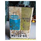 NASCO Motor Oil Can