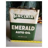 Sinclair Emerald Auto Oil Can
