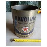 Havoline Motor Oil Can