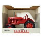 McCormick Farmall Super-A tractor.  1/16 scale.