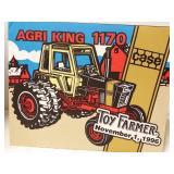 Argi King Case International 1170 Toy Farmer.