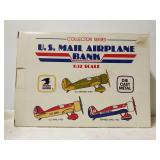 U.S mail airplane bank. 1/32 scale. #102