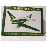 John Deere limited edition DC 3 company airplane