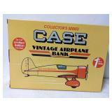 Case vintage airplane bank