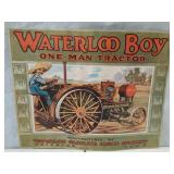 Waterloo Boy Tractor picture. 21 x 17