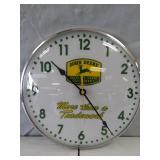 "John Deere clocks. Works 14 1/2"" diameter"