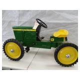 John Deere 7020 rear steer pedal tractor. Comes