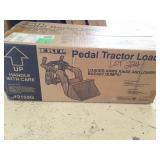 Pedal tractor loader. New in box