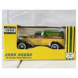 1996 limited edition John Deere 1936 Dodge panel