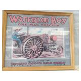 Waterloo Boy framed picture. 17 x 20