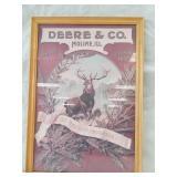 Deere & Co framed picture