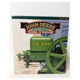 "John Deere battery operated ""E"" engine. 1/6th"