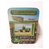Harvest Heritage metal collector cards. Series 1.