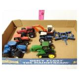 7 piece tractor toys