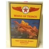Texaco. Wings of Texaco. 1929 Curtiss Robin