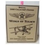 Special 2000 collectors edition. Wings of Texaco.