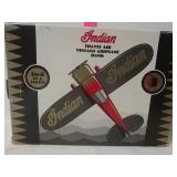 Indian travel air vintage airplane bank second