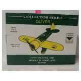 Collector series Oliver 1929 travel air model R