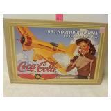 Coca-Cola 1932 Northrop Gamma die cast metal coin