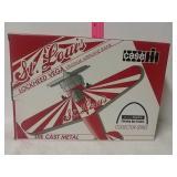 St. Louis Lockheed Vega vintage airplane bank