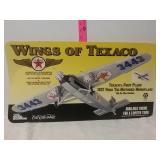Texaco. Wings of Texaco card board dealer sign