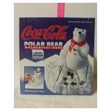 Coca-Cola Polar bear mechanical bank limited