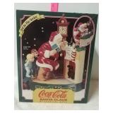 Coco Cola Santa Claus mechanical bank 3rd in the