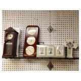 Jewelry box clock, thermometer& barometer, Deluxe