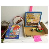 5 piece Old toys and children books