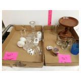 2 box glassware