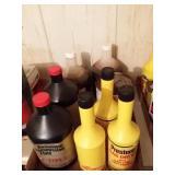5 bottles of transmission fluid and 3 bottles of