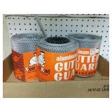 3 rolls of gutter guard