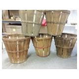 5 apples baskets