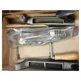 Miracle cutting tools, hack saw, wire brush and