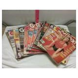 14 adult magazines.