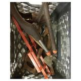 Crate of misc tools