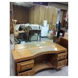 4 drawer vanity and mirror
