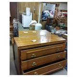 3 drawer dresser with mirror