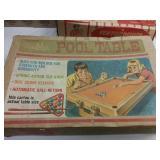 Montclair pool table. Antique toy