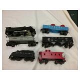6 piece train set