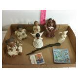 Black angel box lot. 9 pieces