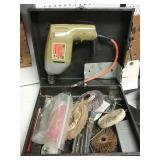 Electric drill with accessories