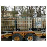 3 Liquid / Water Tanks w/ Cages NO trailer